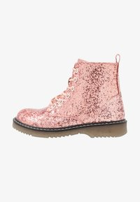 Friboo - Lace-up ankle boots - old pink - 1