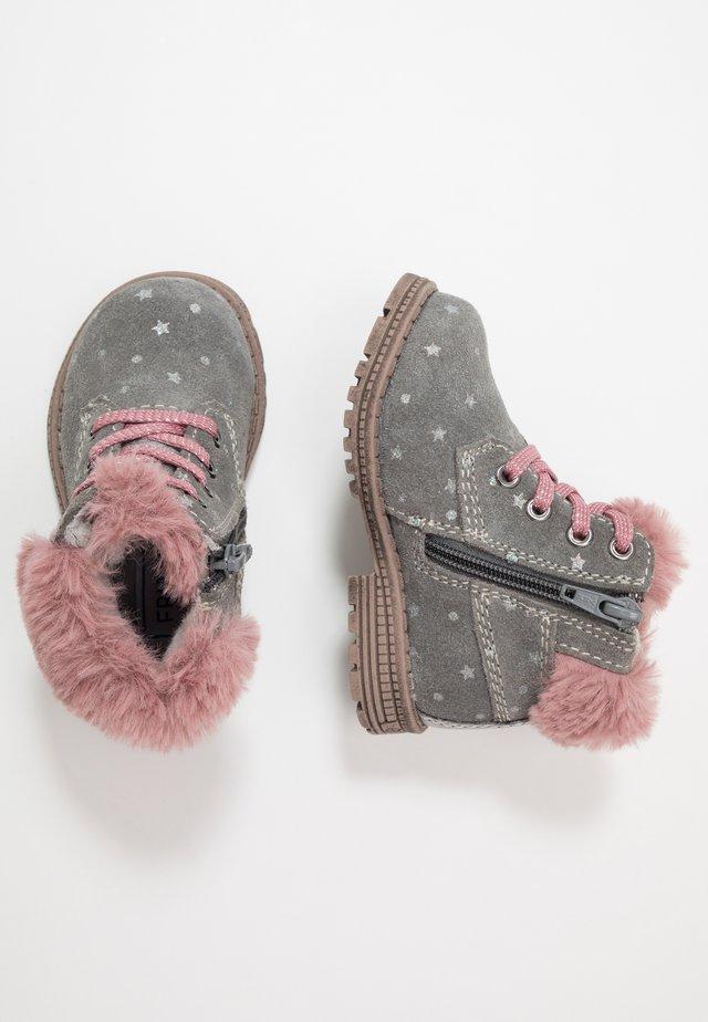 Baby shoes - dark gray