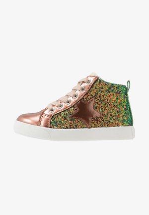 Sneakers hoog - bronze