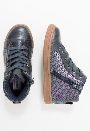 Sneaker high - dark blue