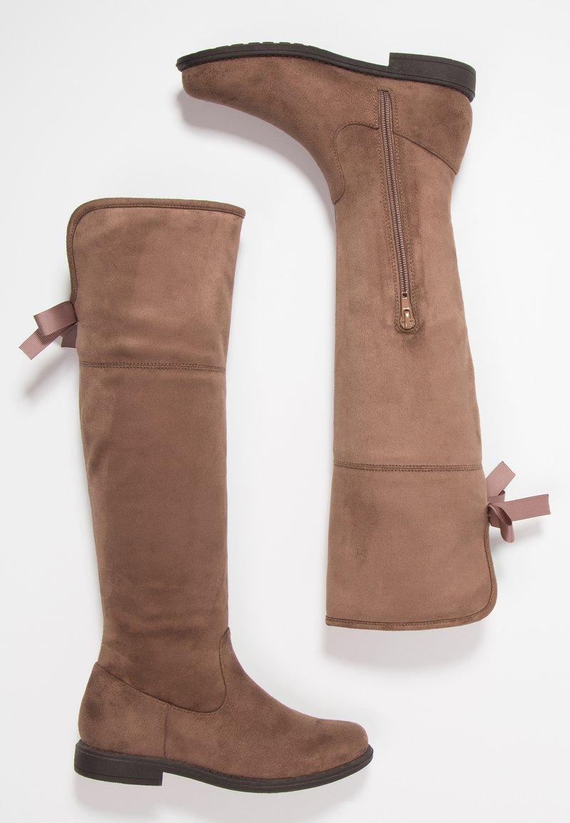 Friboo - Vysoká obuv - taupe