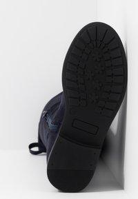 Friboo - Klassiska stövlar - dark blue - 5