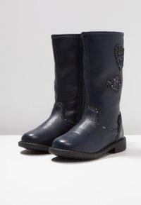 Friboo - Høje støvler/ Støvler - dark blue - 3