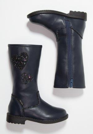 Stiefel - dark blue