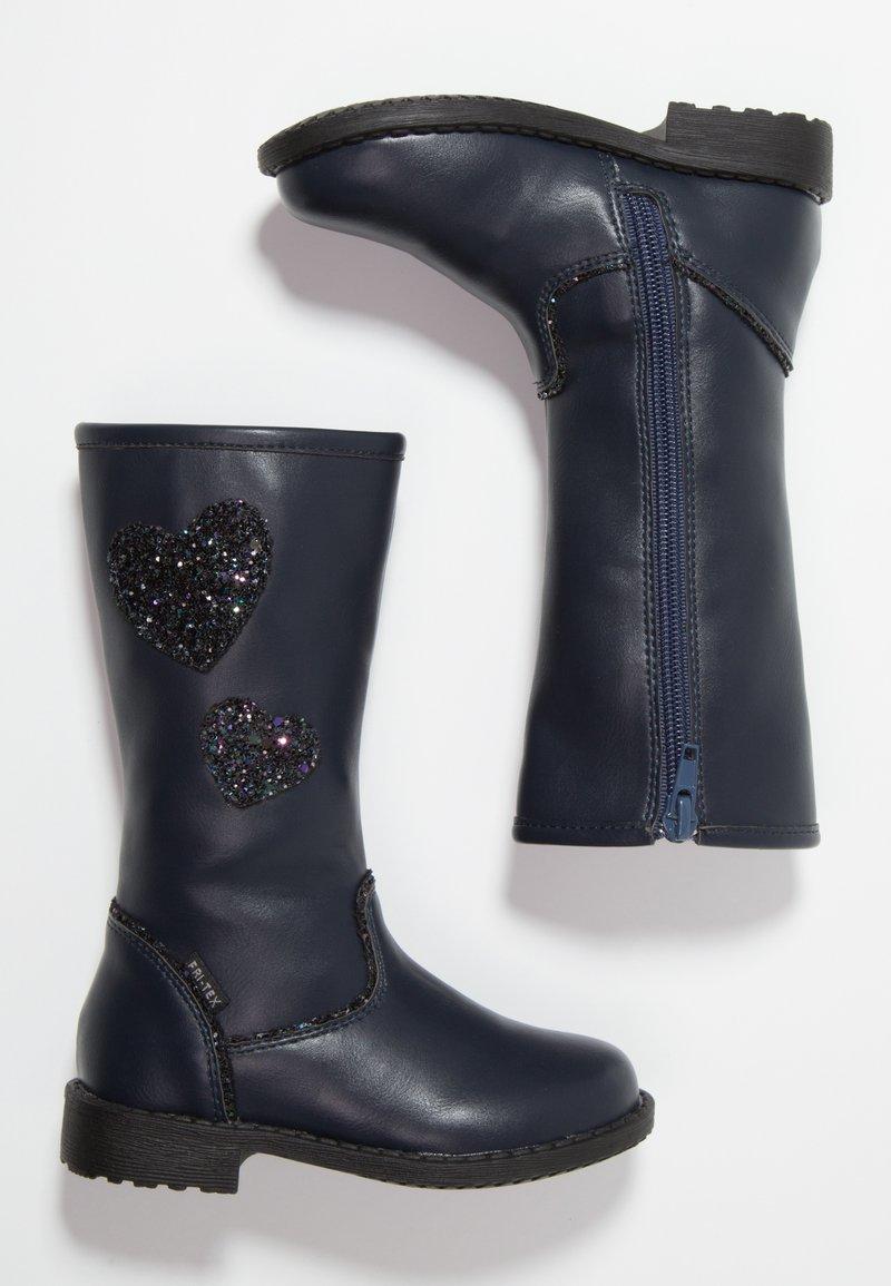 Friboo - Høje støvler/ Støvler - dark blue