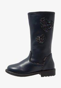 Friboo - Høje støvler/ Støvler - dark blue - 1