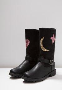 Friboo - Vysoká obuv - black - 3