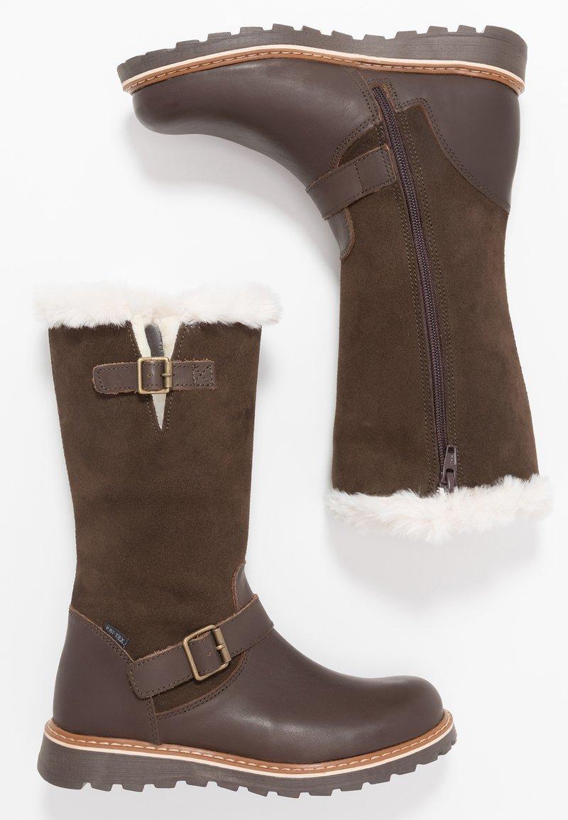 Friboo - Snowboot/Winterstiefel - dark brown
