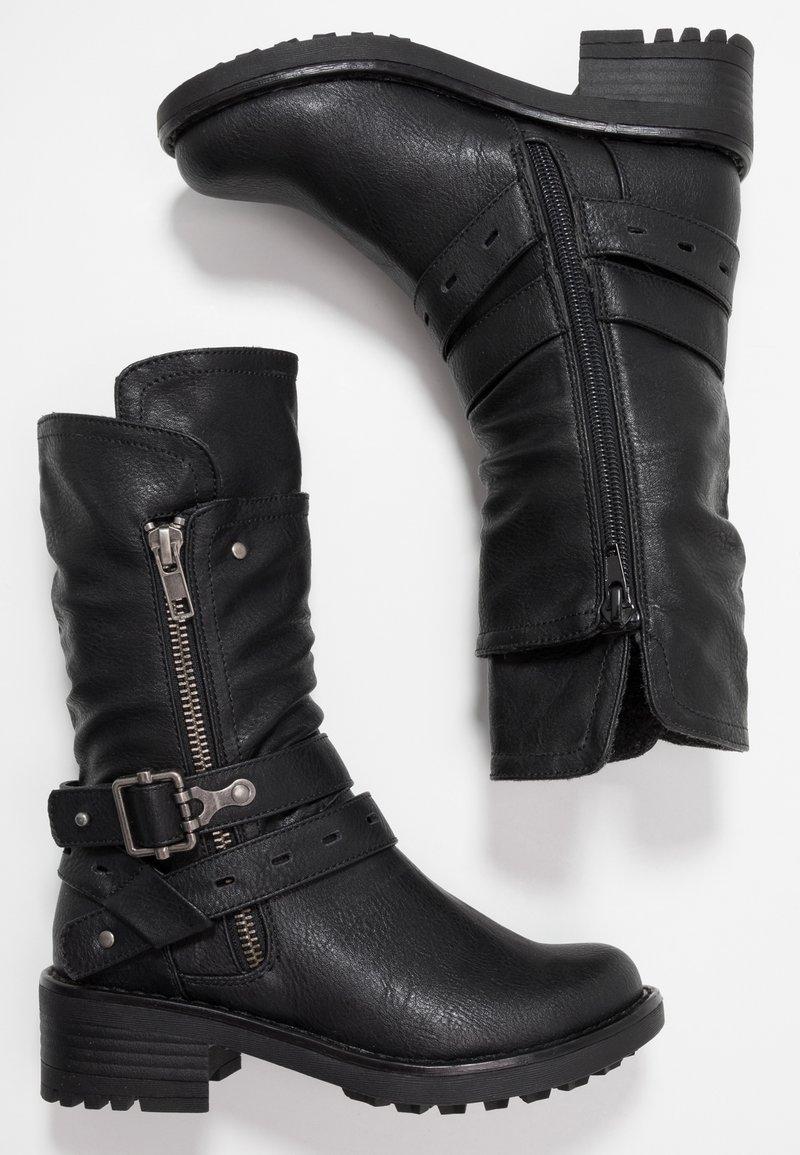 Friboo - Cowboy/Biker boots - black