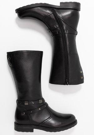 RYANA - Vysoká obuv - black