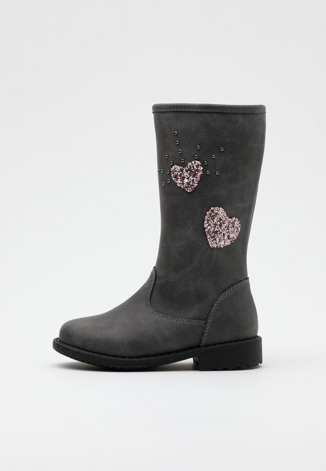 Stiefel - dark gray
