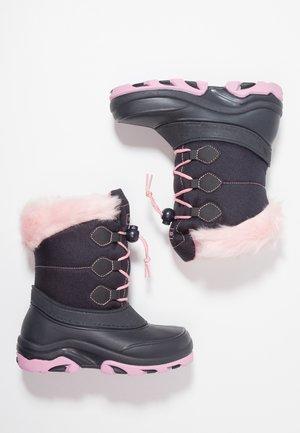 Zimní obuv - dark blue/pink