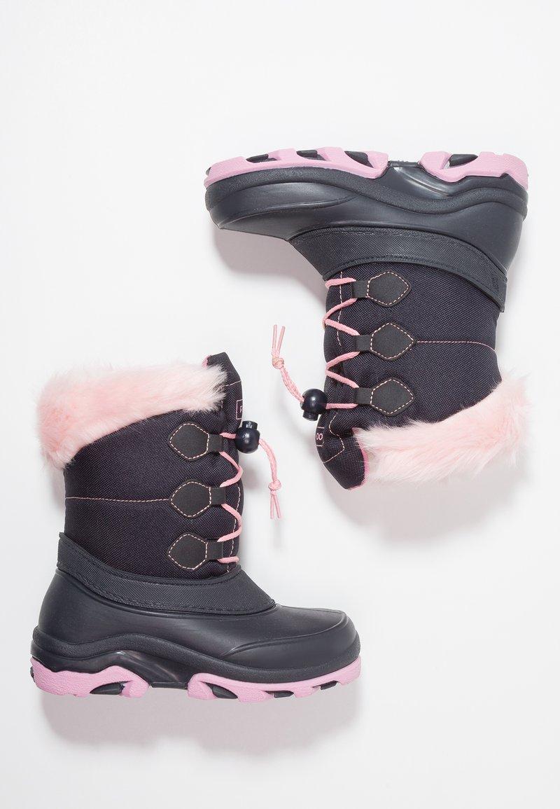 Friboo - Botas para la nieve - dark blue/pink