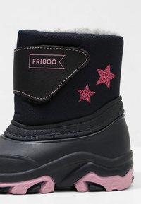Friboo - Vinterstövlar - dark blue - 2