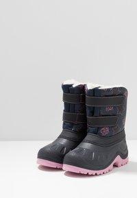 Friboo - Botas para la nieve - dark blue - 3