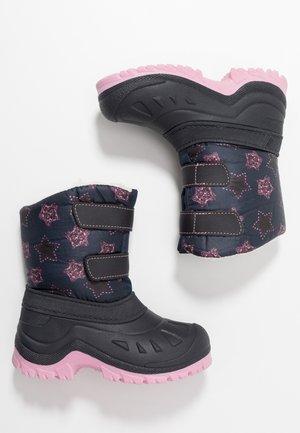 Winter boots - dark blue