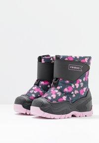 Friboo - Stivali da neve  - black/dark blue - 3
