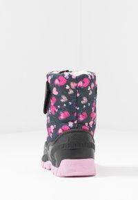 Friboo - Stivali da neve  - black/dark blue - 4