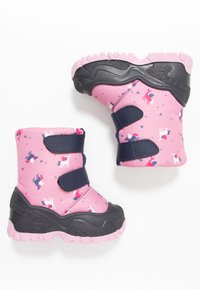 Friboo - Snowboots  - dark blue/rose - 0