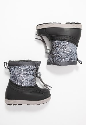 Winter boots - silver/black