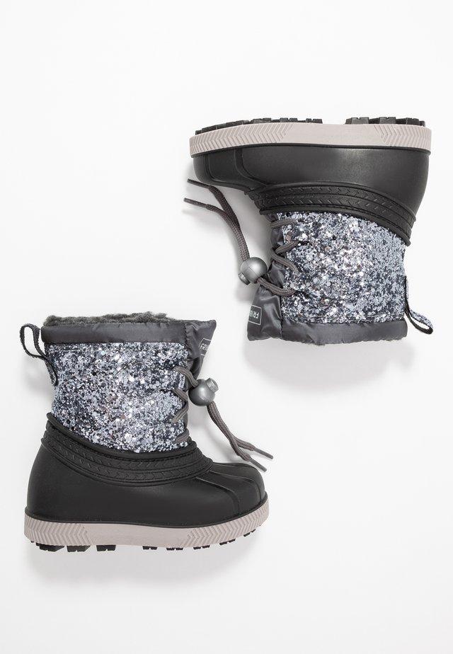 Vinterstøvler - silver/black