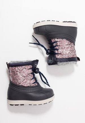 Bottes de neige - multicoloured/dark blue