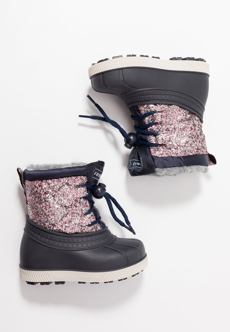 Friboo - Winter boots - multicoloured/dark blue