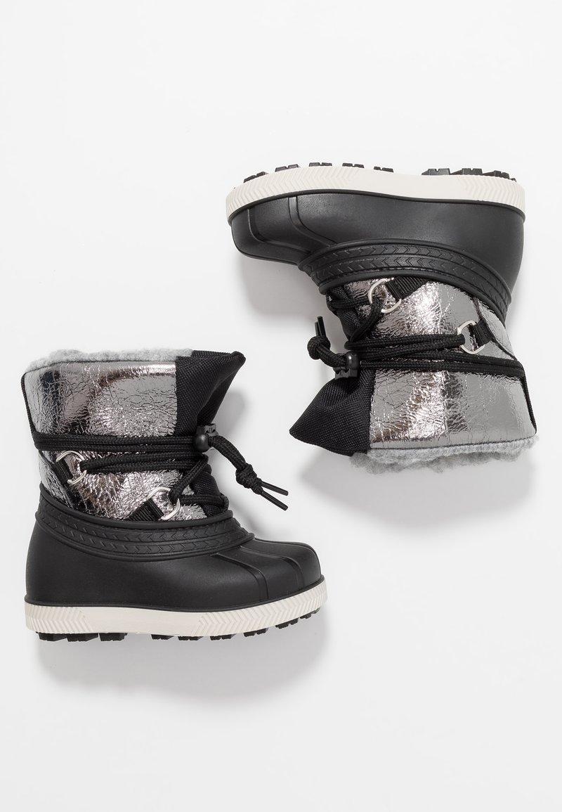 Friboo - Vinterstøvler - silver/black