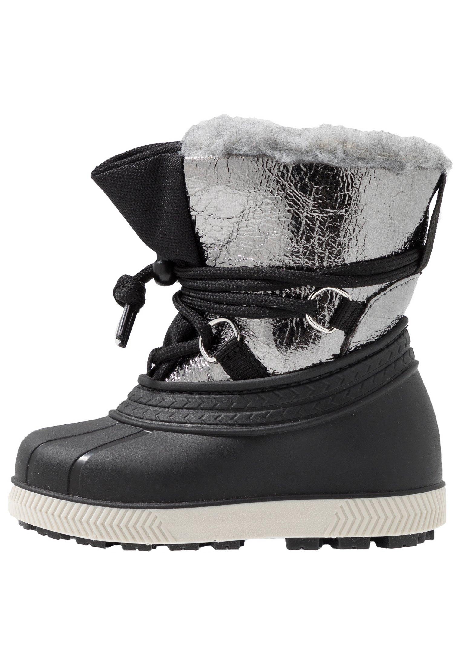 Snowboot/Winterstiefel - silver/black