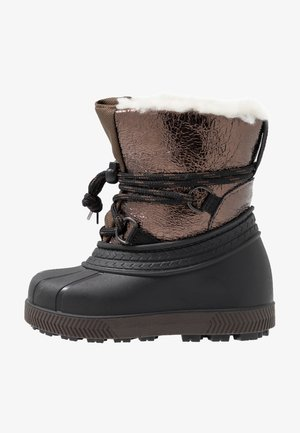 Winter boots - bronze/black