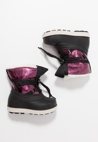 Friboo - Winter boots - black/berry - 0