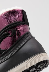 Friboo - Winter boots - black/berry - 2