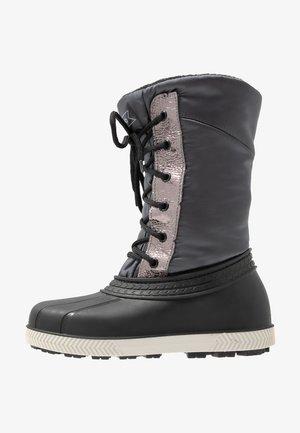 Snowboots  - grey/black