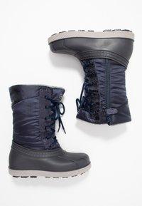Friboo - Botas para la nieve - dark blue - 0