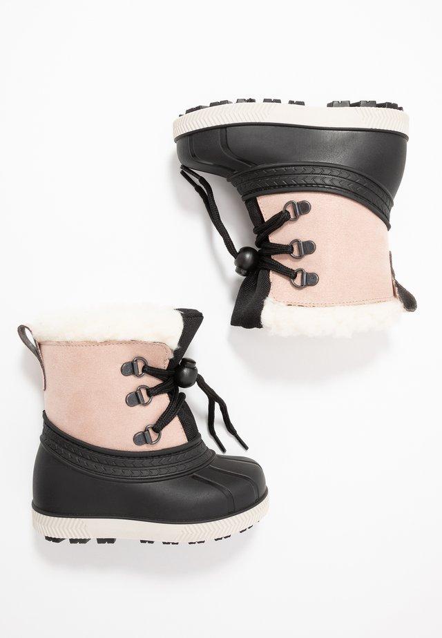 Zimní obuv - beige/black