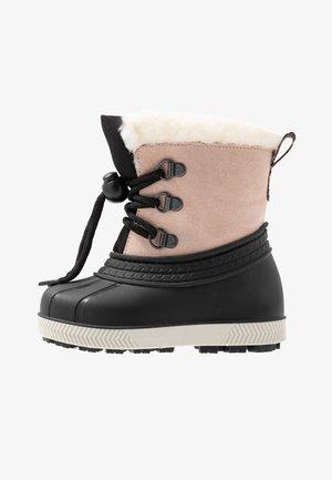 Snowboots  - beige/black