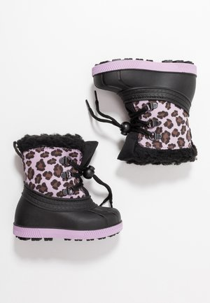 Winter boots - black/violett