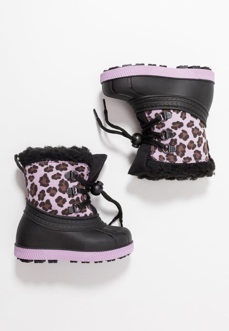 Friboo - Botas para la nieve - black/violett