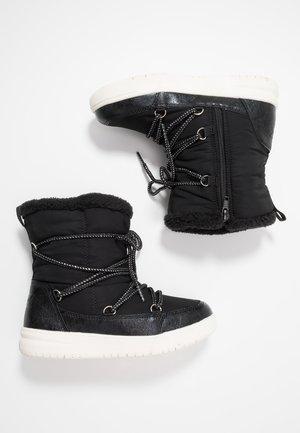 Nauhalliset saappaat - black