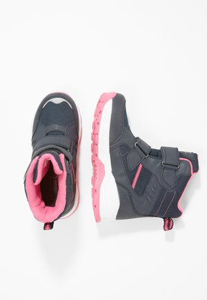 Snowboot/Winterstiefel - dark blue/pink