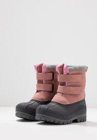 Friboo - Botas para la nieve - pink - 3