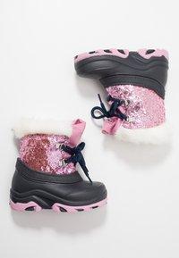 Friboo - Snowboots  - dark blue/rose - 0