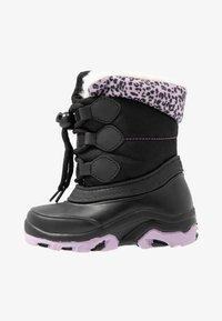 Friboo - Botas para la nieve - black - 1