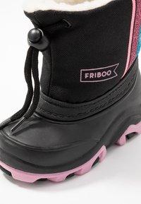 Friboo - Botas para la nieve - black - 2