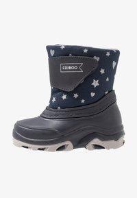Friboo - Botas para la nieve - dark blue - 1