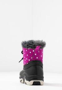 Friboo - Botas para la nieve - black/pink - 4