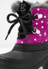 Friboo - Botas para la nieve - black/pink - 2