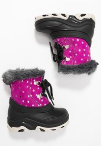 Friboo - Winter boots - black/pink - 0