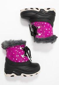 Friboo - Botas para la nieve - black/pink - 0