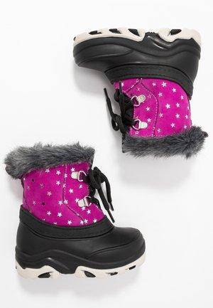 Stivali da neve  - black/pink